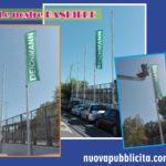 Bandiere con stampa personalizzata in varie misure e tipologie: a Goccia, Vela e Stendardo.