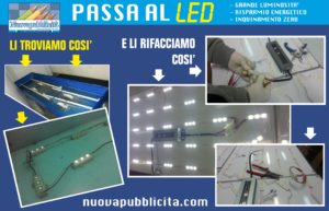 PASSA AL LED 1